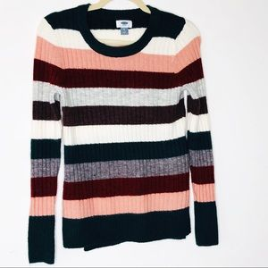 OLD NAVY stripe sweater. XS. NWOT